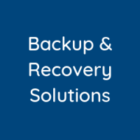 Backup & Recovery Solutions
