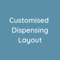 Customised Dispensing Layout for Streamlined Dispense